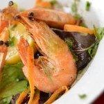King prawns in garlic