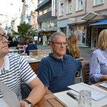 Outside dining on Steinenvorstadt.