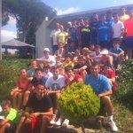 Tennis Camp group