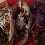The carnitas tacos.