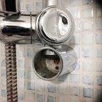 calcare in doccia