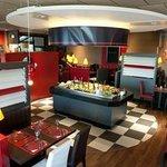 La salle de votre restaurant POIVRE ROUGE Le Mans Sud -Ruaudin