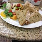 My Prawn Maynonise Sandwiches