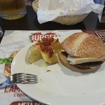 BACON SWISS – DOUBLE BURGER