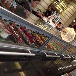 The gorgeous dessert display