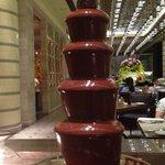 Chocolate fountain....heavenly