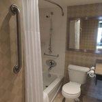 Queen Size Bedroom - Handicap Accessible Room - Washroom