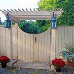 Garden/Rear B&B entrance