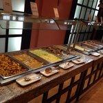 Nourriture variée à laico 5* hammamet