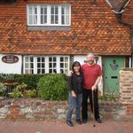 in front of Old Manor House B&B
