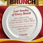 Monthly Sunday Brunch
