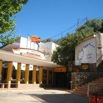 The entrance to Paraje Cuevas de San Jose Caves