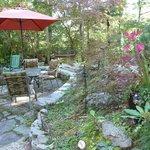 Lovely garden area