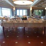 breakfast buffet in dinning room