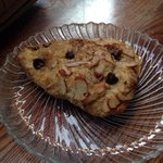 Chocolate Almond scone