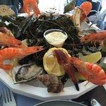 Petit plateau de fruits de mer de notre composition