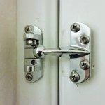 Missing bar from door lock