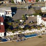 Vista panorámica del Hotel Marbella