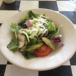 Italian Salad at lunch. Yum!