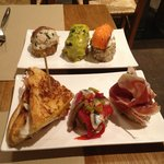 Tapas from the bar