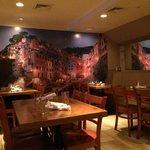Underground restaurant space