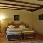 The huge bedroom