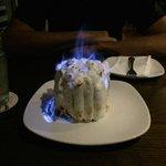 My husband's birthday baked alaska