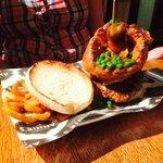 Sunday Dinner burger