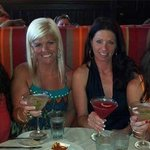 Ladies enjoying Catalunya's martinis