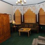 View of sitting room from door