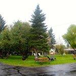 Buckrail Lodge grounds
