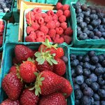 Fresh Berries at the Portland State Farmers Market