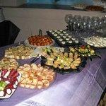 Buffet particolari e deliziosi