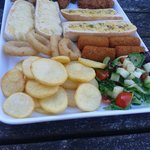 Sharing platter for two.. was nice