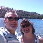 My Wife and  enjoying God's Beatiful Creations