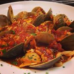 Linguini with Red Clam Sauce