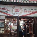 25 aniversario del retaurante Villa Paradiso