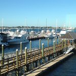 Ann St Landing - View from #204 at Wyndam Inn on the Harbor
