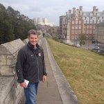 Walking the Walls of York.