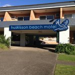 Huskisson Beach Motel Entrance