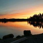 Echo Lake at dusk