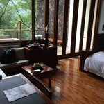 Double room with spa.  Sitting area