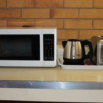 Microwave, Kettle & Toaster in every room