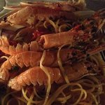 Prawn linguini - Excellent