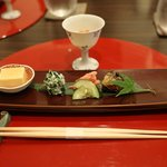 sakizuki – a selection of small appetizers