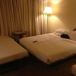 The double bed with extra bed No 2