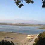 la buvette de la plage vue baie