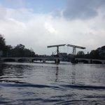"The ""skinny bridge"" of Amsterdam"