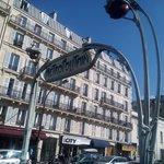 la metro vicina all'albergo