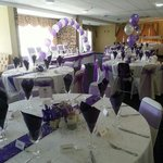 Mine and linda walker now allsopp room done by the team for our beautiful wedding at howley hall
